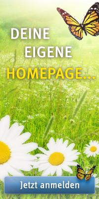 Anmeldung - kostenlose Homepage